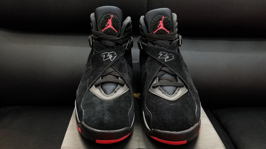 Air Jordan 8 Bred Black Gym Red Release Date  5f575d3a2