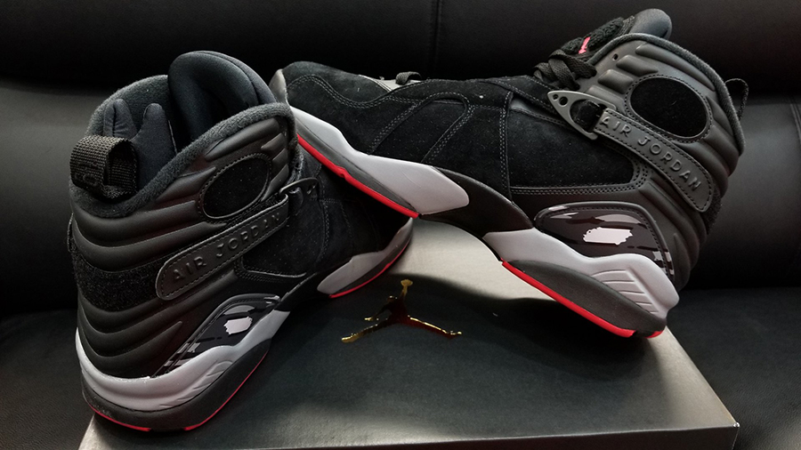 air jordan retro bred 8