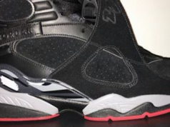 Air Jordan 8 Bred Black Gym Red Wolf Grey Release Date