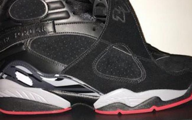 Air Jordan 8 Bred Black Gym Red Wolf Grey Release Date