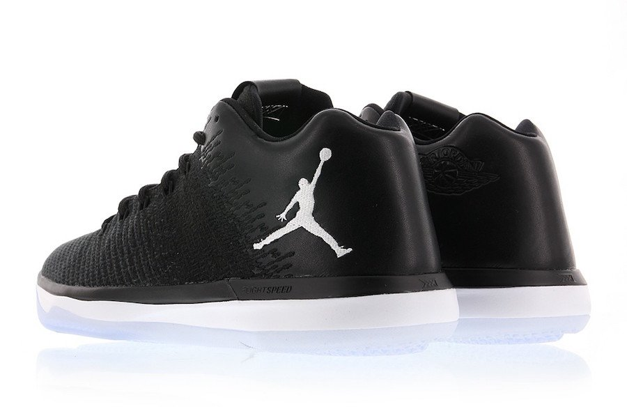 Air Jordan XXX1 Low Black White Release Date
