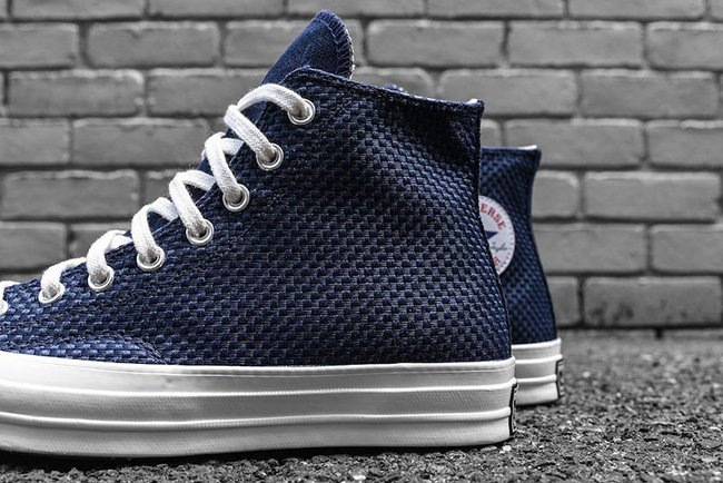 Converse Chuck Taylor All Star Woven High Obsidian