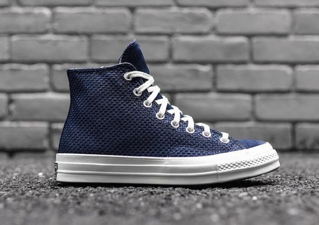 huge selection of 91d8e bc2b1 Converse Chuck Taylor All Star Woven High Obsidian