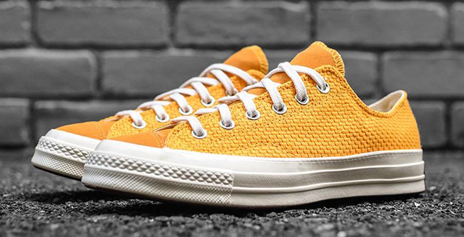 Converse Chuck Taylor All Star Woven Low University Gold