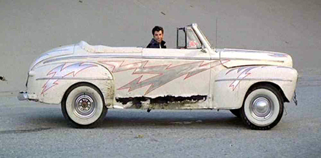 David Zuko Greased Lightning Car