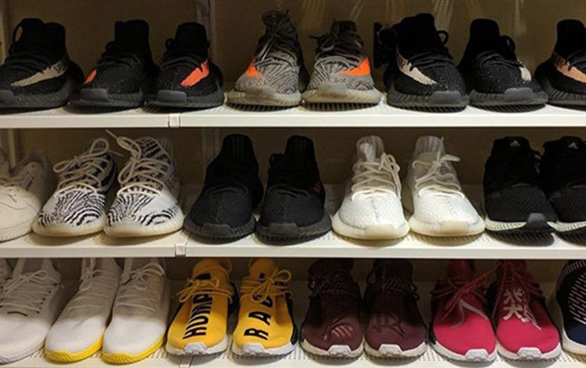 Jon Wexler Sneaker Closet