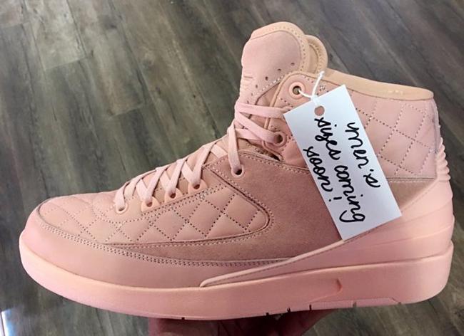 Just Don Air Jordan 2 Arctic Orange Mens Size Release Date