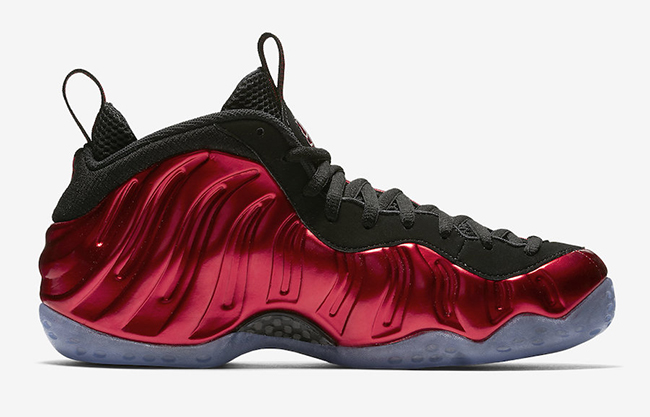 Metallic Red Nike Foamposite One 2017