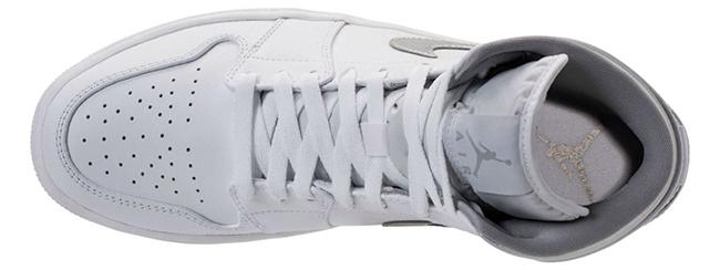 Metallic Silver Air Jordan 1 Mid