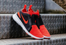Nike Air Current Slip-On Bright Crimson Release
