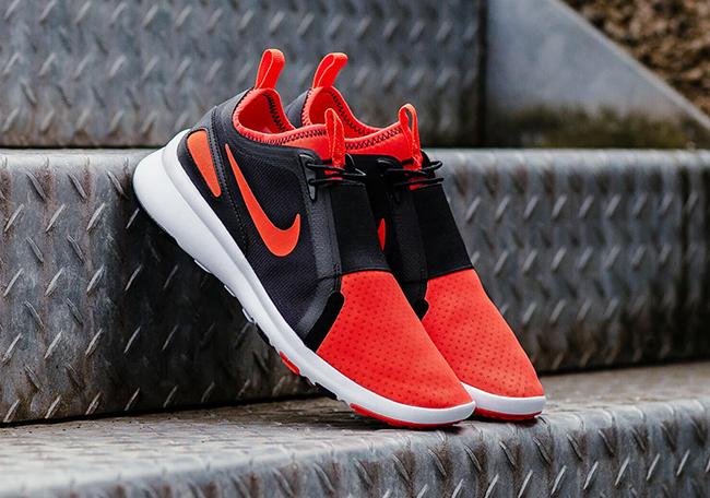 Nike Air Current Slip-On Bright Crimson Release