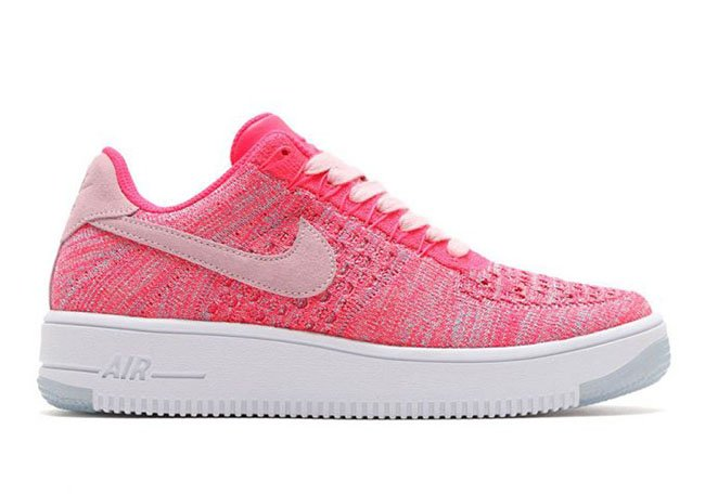 Nike Air Force 1 Flyknit Low Prism Pink Release Date
