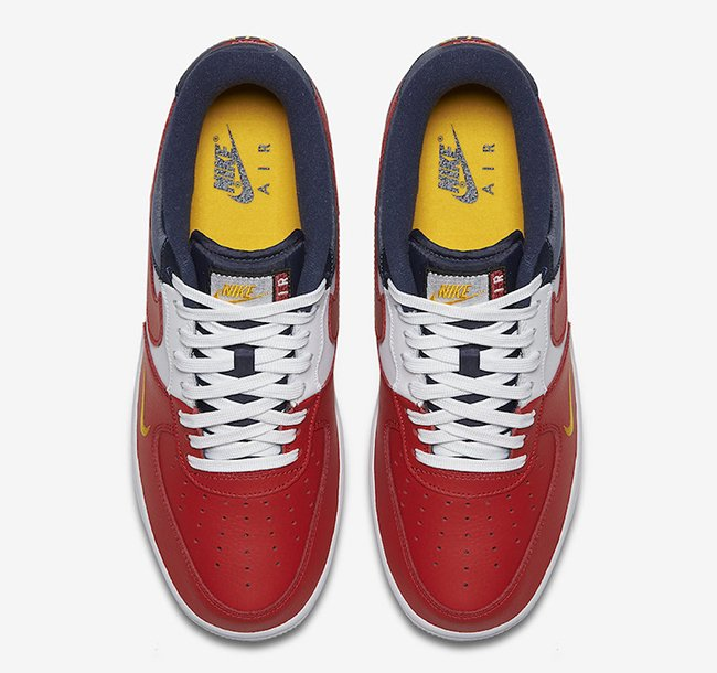 Nike Air Force 1 Low July 4th Mini Swoosh USA
