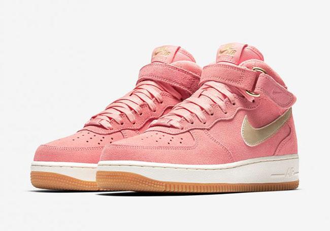 e44634039065f Nike Air Force 1 Mid Bright Melon 818596-800 | SneakerFiles