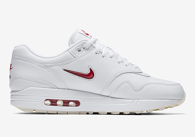Nike Air Max 1 Premium SC Jewel White Red