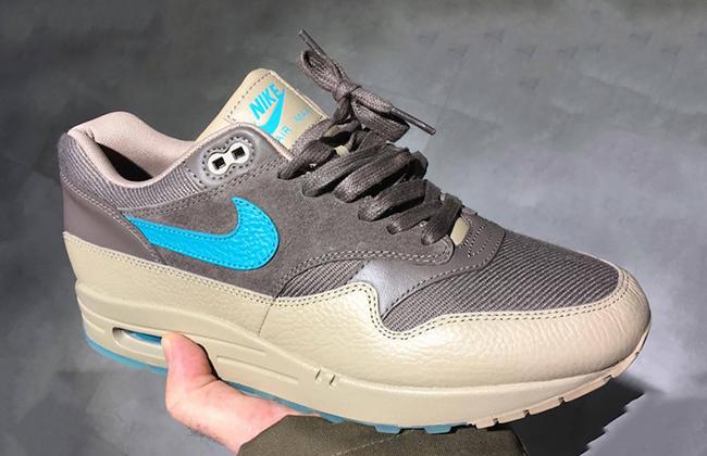 Nike Air Max 1 Premium Twill Aqua