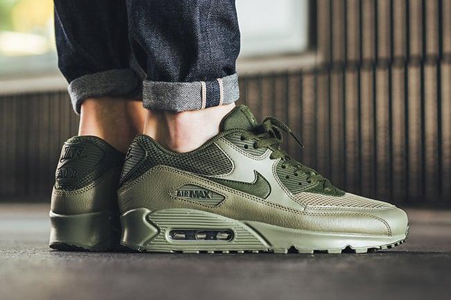 Nike Air Max 90 Essential Legion Green 537384 200 | SneakerFiles