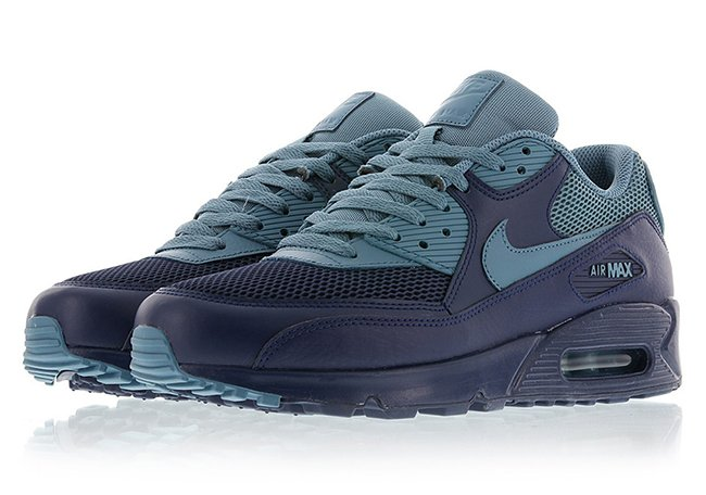 Nike Air Max 90 Essential Midnight Navy Smokey Blue