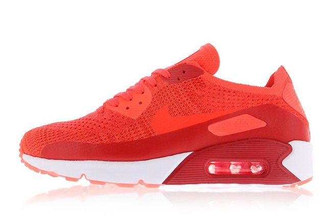 nike air max 90 ultra 2.0 flyknit bright crimson