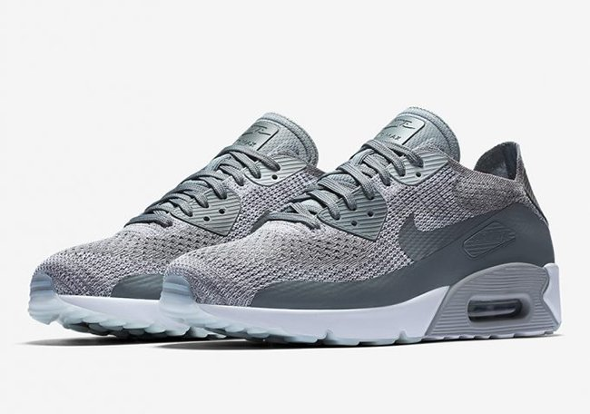 clase Revisión Erudito  Nike Air Max 90 Ultra 2.0 Flyknit Cool Grey 875943-003 | SneakerFiles