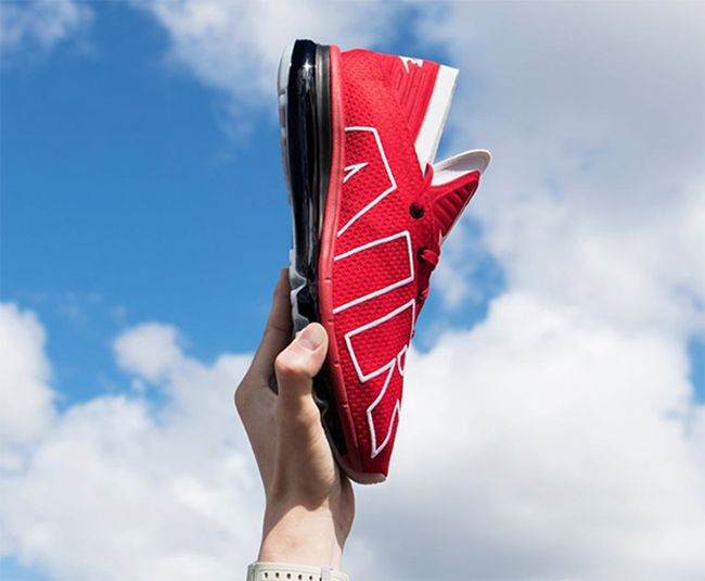Nike Air Max Flair Red White Black