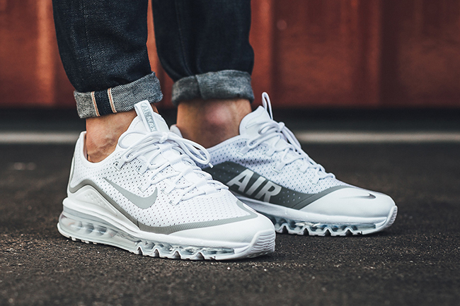 low priced b9769 3c28a Nike Air Max More Metallic Silver