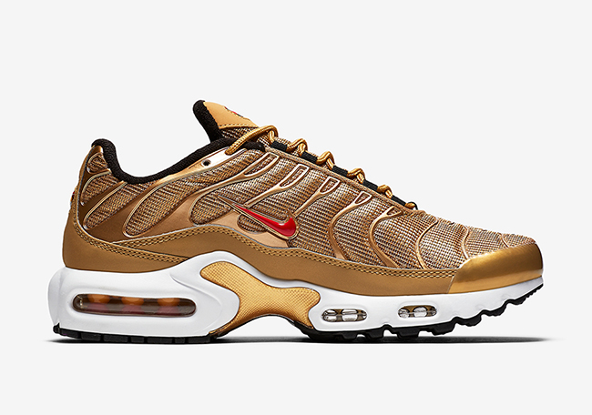 Nike Air Max Plus Metallic Gold Release Date