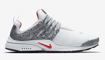 Nike Air Presto Safari White Black