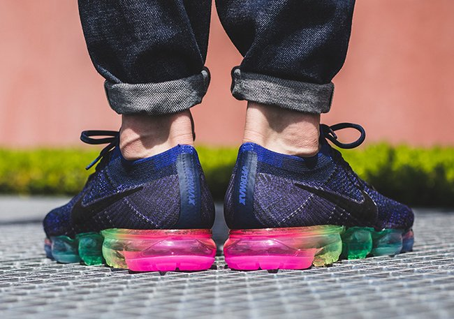Nike Air VaporMax Be True On Feet