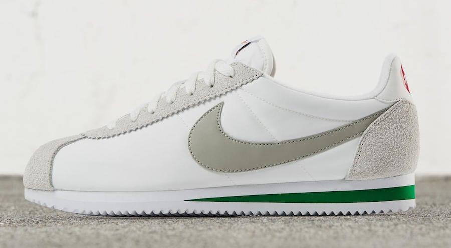 Nike Classic Cortez Nylon Premium Ivory Pine Green