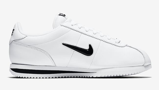 Nike Cortez Jewel White Black Release Date