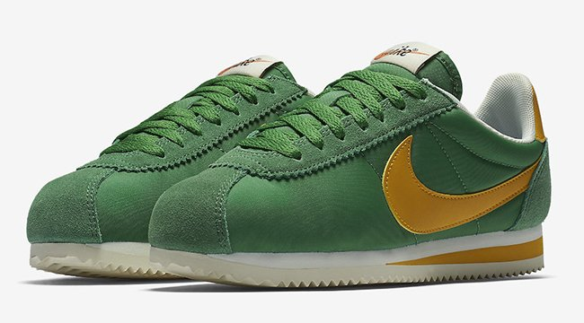 Nike Cortez Oregon Gorge Green Yellow