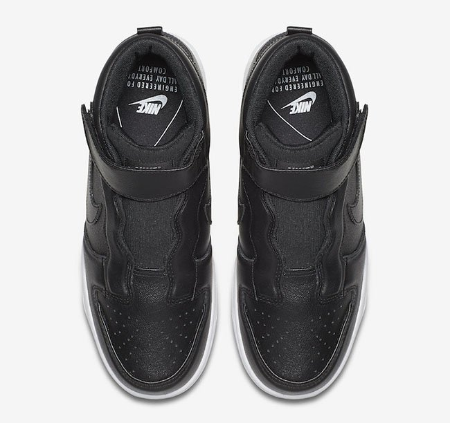 Nike Dunk High Ease Slip-On Black