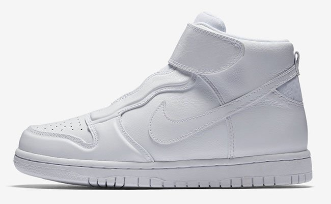Nike Dunk High Ease Slip-On White