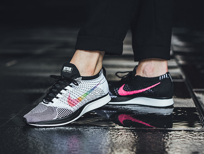 Nike Flyknit Racer Be True On Feet