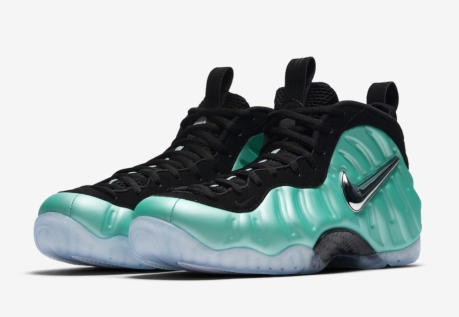 Nike Foamposite Gym Green For Sale