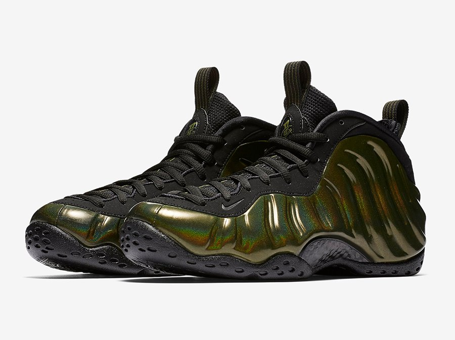 buy online d2855 fd397 Nike Foamposite One Legion Green