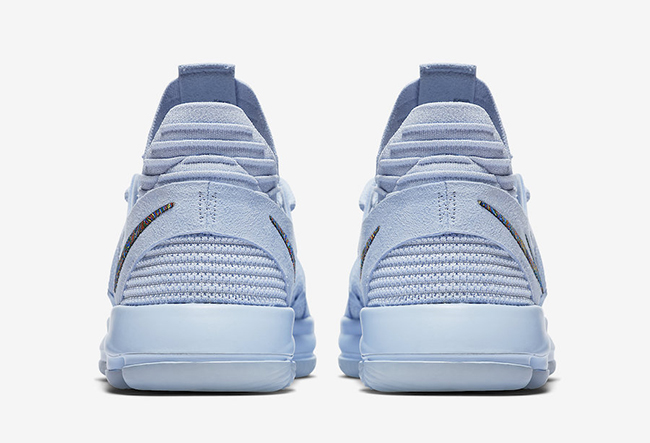 Nike KD 10 Anniversary Faint Blue 897817-900