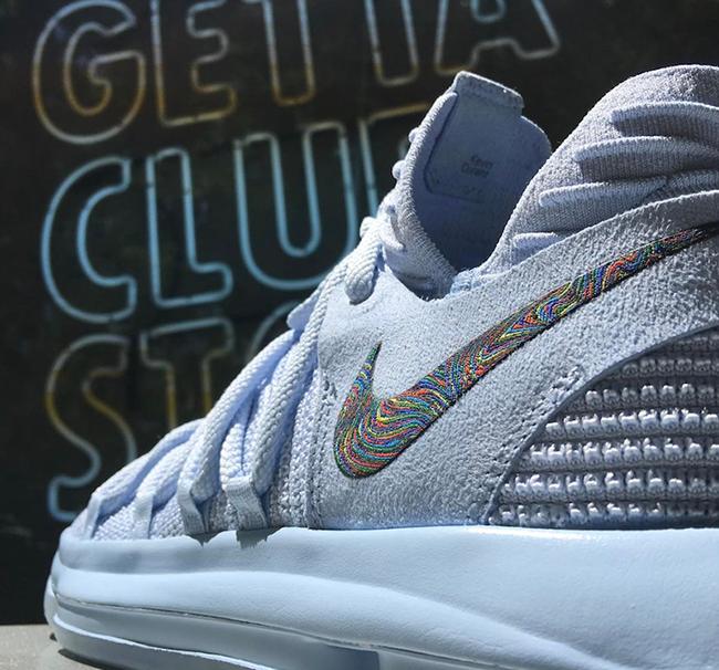 Nike KD 10 Anniversary Faint Blue Release Date