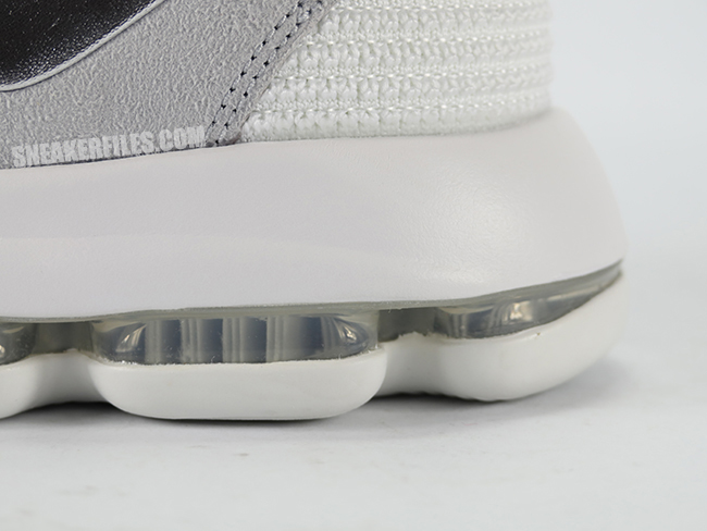 huge discount 94d43 0d267 Update  Your best look yet at the  White Chrome  Nike KD 10. Nike KD 10  White Chrome Pure Platinum 897815-100