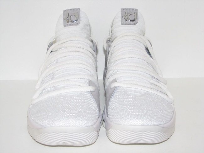 Nike KD 10 White Chrome Release Date