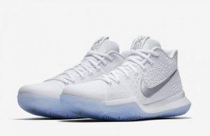 Nike Kyrie 3 White Chrome 852395-193 Release Date