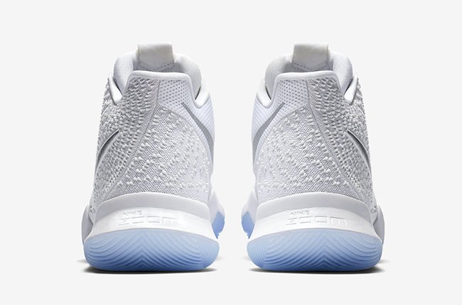 Nike Kyrie 3 White Chrome 852395-193 Release Date