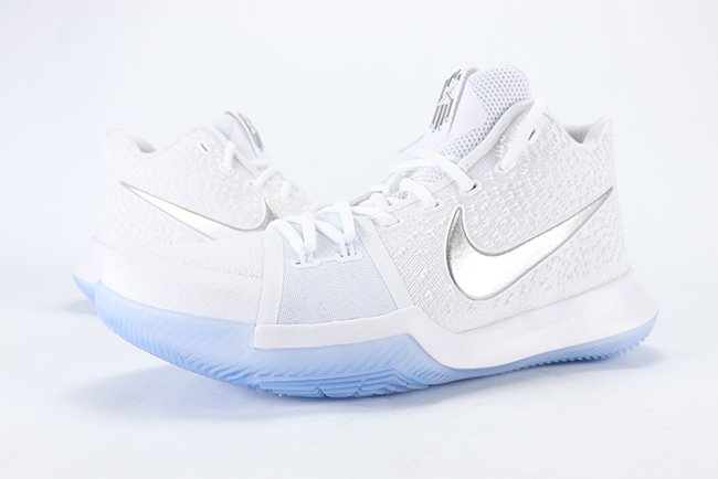 b367b491a5a2 Nike Kyrie 3 White Chrome 852395-103 Release Date