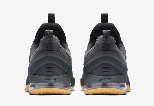 Nike LeBron 13 Low Anthracite Gum Release Date