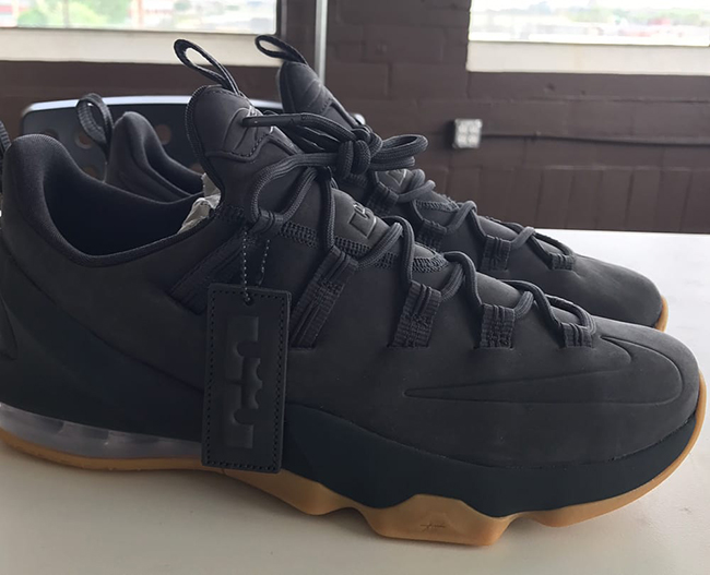 Nike LeBron 13 Low Premium Anthracite Release Date