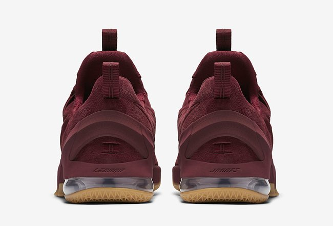 Nike LeBron 13 Low Team Red Gum Release Date