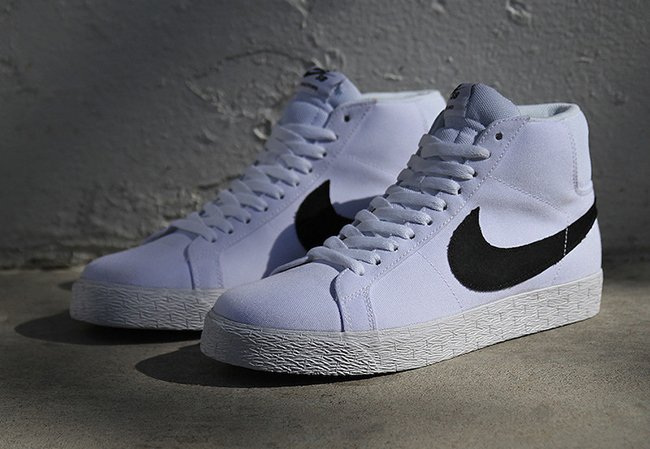 Nike SB Zoom Blazer Mid Canvas White Gum