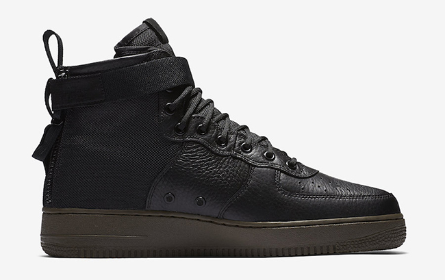 Nike SF-AF1 Mid Black Cargo Khaki Release Date