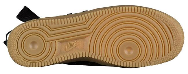 Nike SF AF1 Mid Black Gum 917753-003